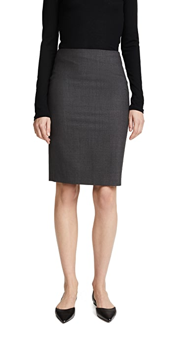 Theory Edition Pencil Skirt - Charcoal