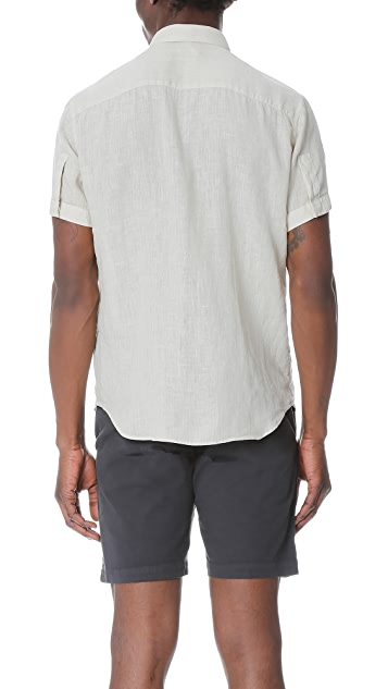 Theory Coppolo Instrumental Light Shirt