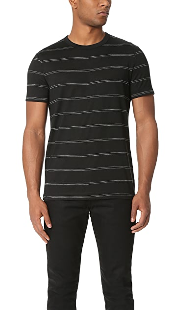 Theory Gaskell Anemone Stripe Tee