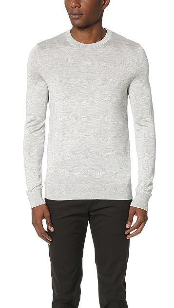 Theory Riland Admiral Crew Sweater