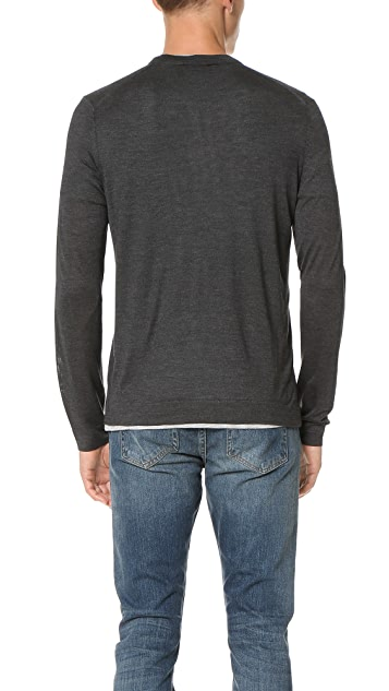 Theory Tricio Admiral Cardigan Sweater