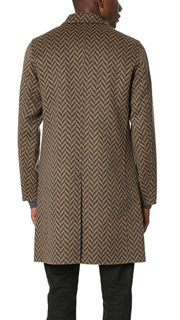 Theory Delancey Westfir Overcoat