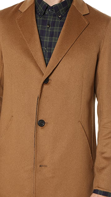 Theory Delancey Reish Cashmere Overcoat