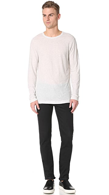 Theory Gaskell Hasten Long Sleeve Tee