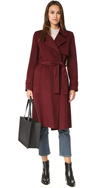 Theory Oaklane Wool Coat