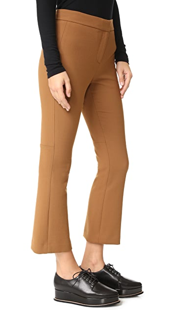 Theory Erstina Cropped Flare Pants