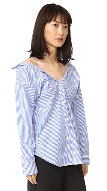 Theory Tamalee Blouse