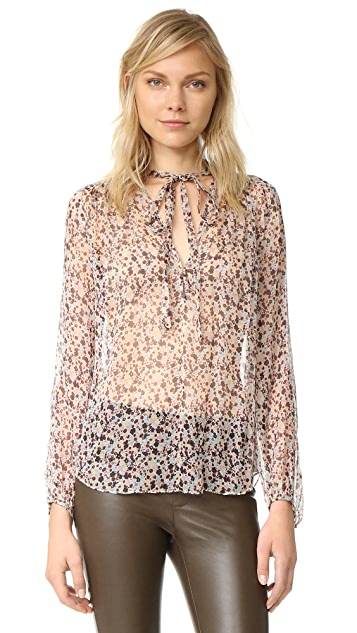 Theory Bernetta Blouse