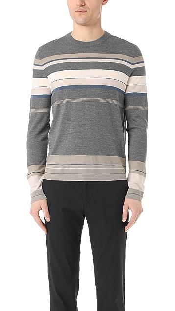 Theory Sandes New Sovereign Merino Crew Sweater