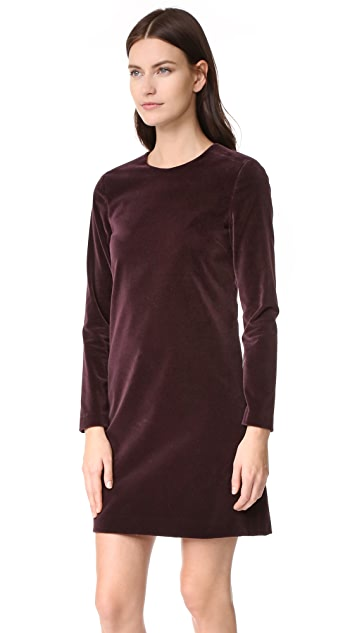 Theory Wynter Velvet Dress