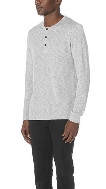 Theory Snap Henley