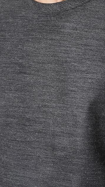 Theory Side Zip Sweatshirt