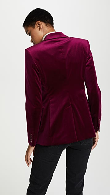 Theory Velvet Power Jacket II