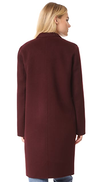 Theory Essential Double Faced Wool Coat