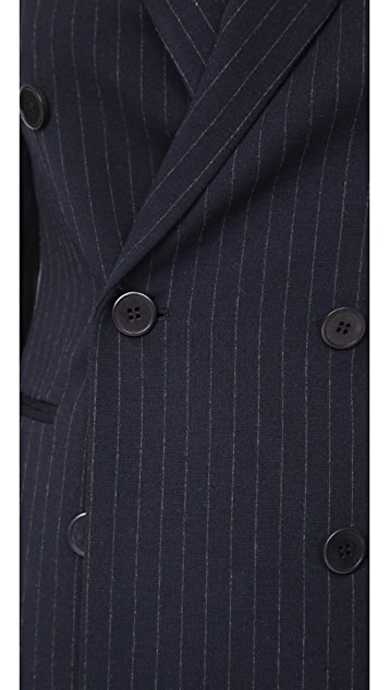Theory Power Pinstripe Blazer