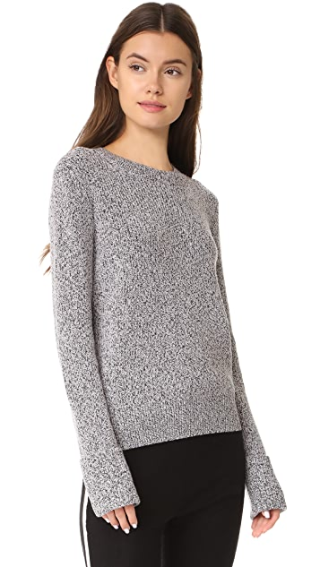 Theory Ribbed Sweater with Cuffs