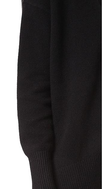 Theory Oversized Cashmere Cardigan