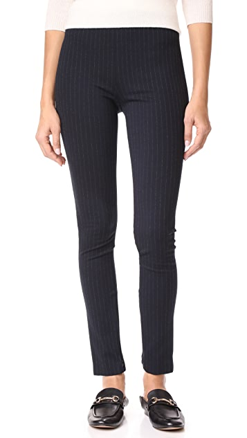 Theory Pinstripe Trousers