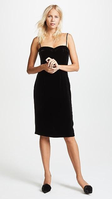 Theory Velvet Corset Dress