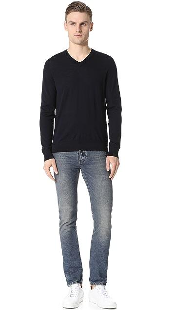 Theory Sovereign Riland V Neck Sweater