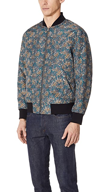 Theory Basma Reversible Bomber Jacket