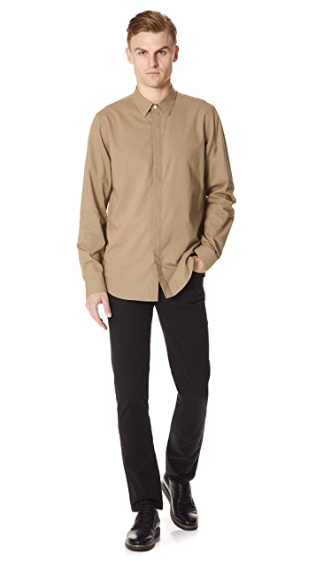 Theory Levy Crepe Shirt