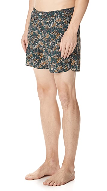 Theory Track Swim Trunks