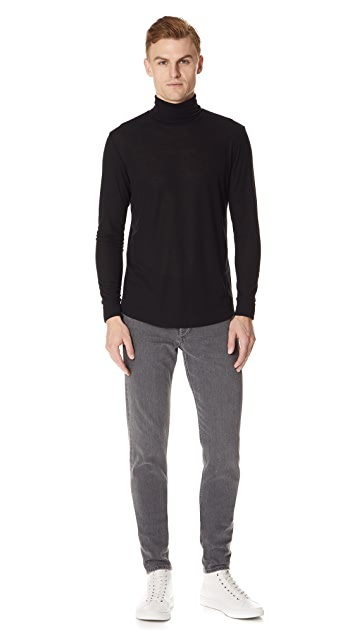 Theory Extend Long Sleeve Turtleneck Tee