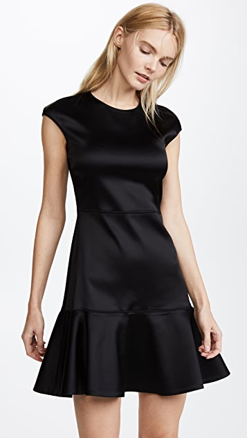 Theory Essential Flare Dress