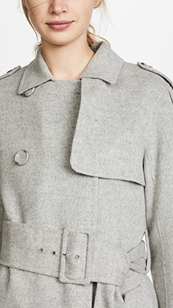 Theory Statement Trench Coat
