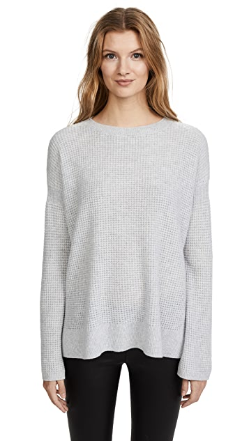 Theory Cinched Sleeve Cashmere Sweater