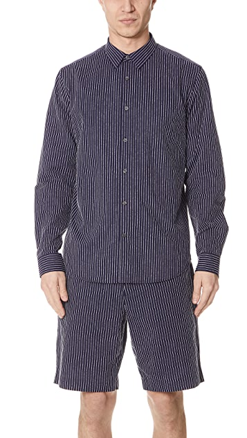 Theory Irving Chenille Shirt
