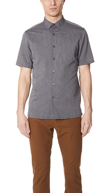Theory Murray Short Sleeve Essential Top