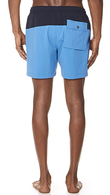 Theory Cosmos Swim Trunks
