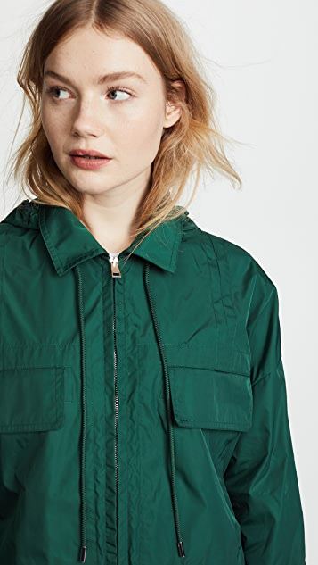 Theory Cropped Anorak