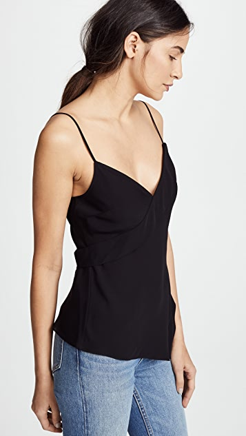 Theory Silk Crossover Tank