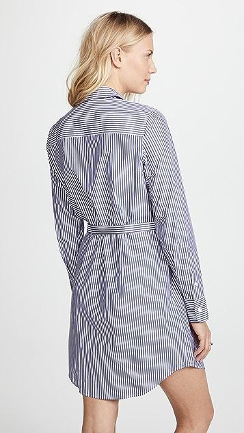 Theory Clean Shirtdress