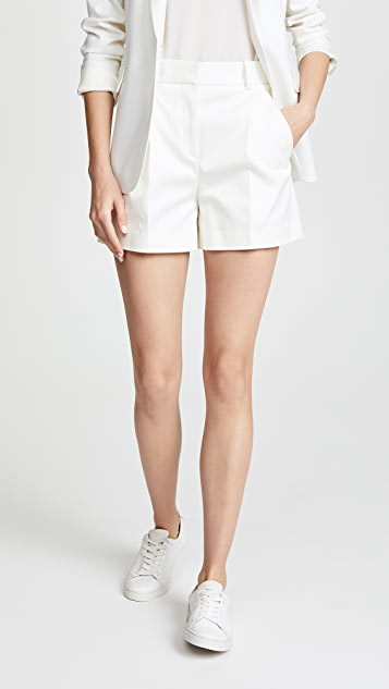 Theory Pleat Shorts