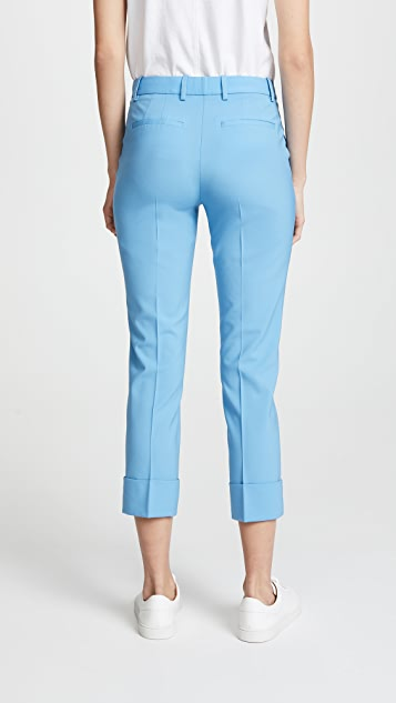 Theory Crop Cuff Pants