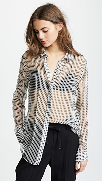 Theory Essential Button Down Shirt