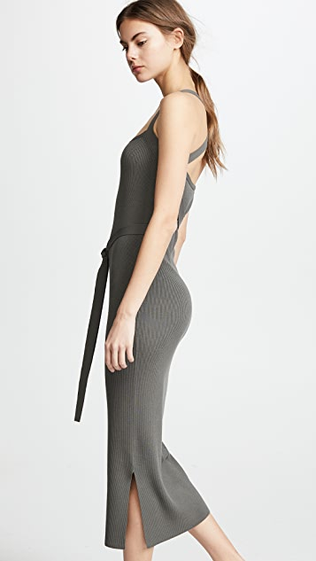 Theory Cross Back Dress