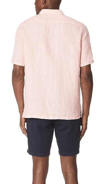 Theory Irving Linen Summer Shirt