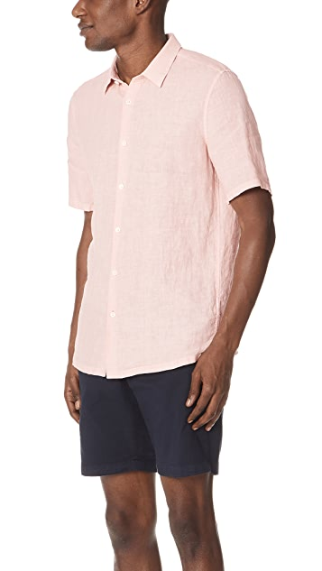 Theory Irving Linen Summer Shirt