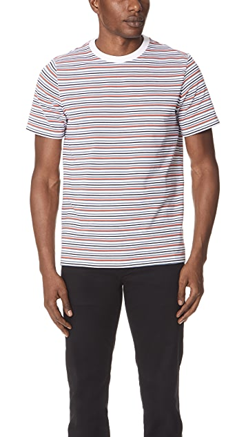 Theory Surfer Stripe Tee