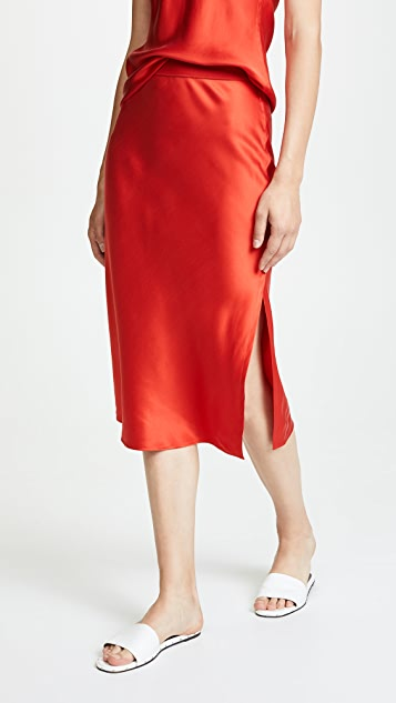 Theory Pull On Slip Skirt