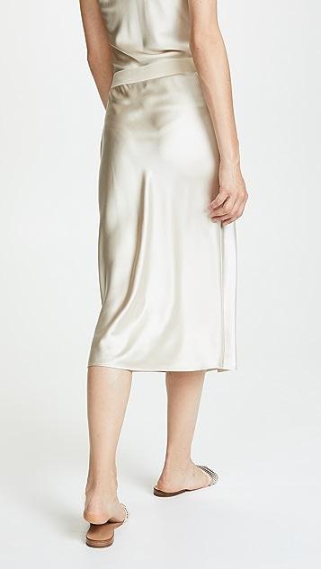 Theory Pull On Slip Skirt