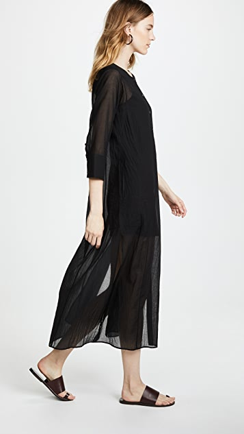 Theory Weekend Button Down Maxi