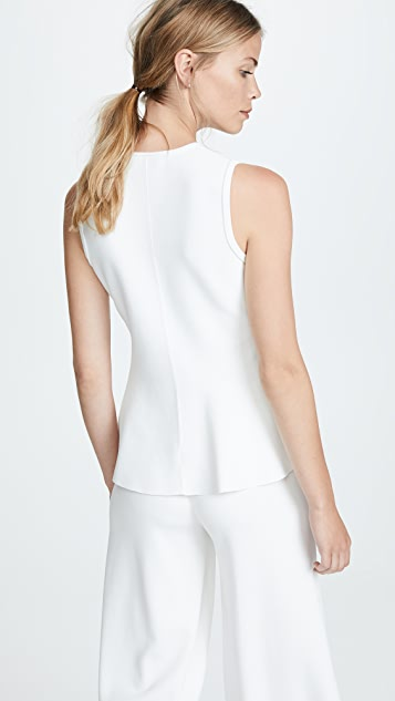 Theory Classic Peplum Pullover