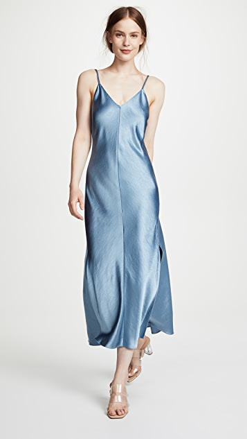 Double Strap Slip Dress by Theory