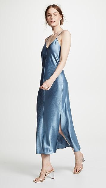 Theory Double Strap Slip Dress